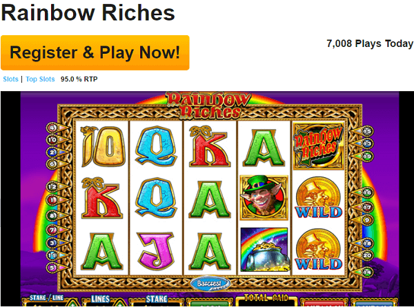 Betfair Rainbow Riches