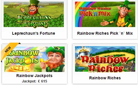 Betfair Rainbow Riches
