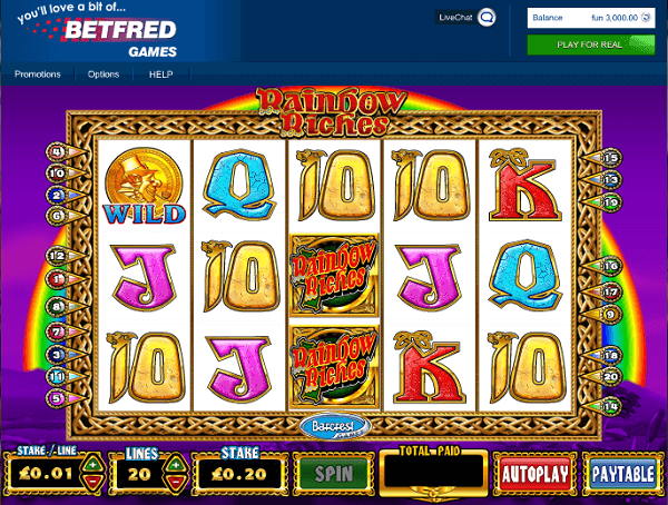 Betfred  Rainbow Riches