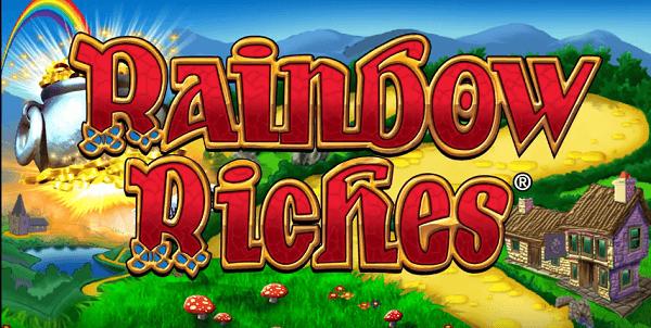 free Rainbow Riches no deposit logo