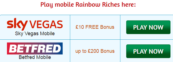 Free Slots For Fun Rainbow Riches Mobile