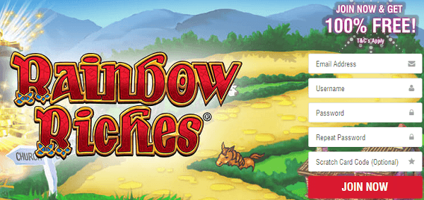 Free Slots For Fun RainbowRiches