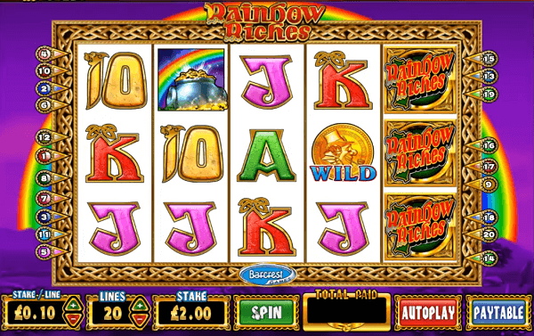 free slots no deposit Rainbow Riches