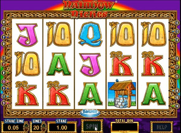 free slots Rainbow Riches play free