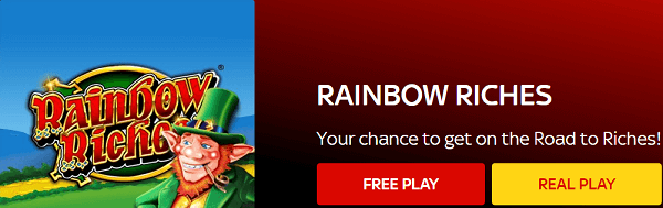 FreePlay Rainbow Riches Barcrest