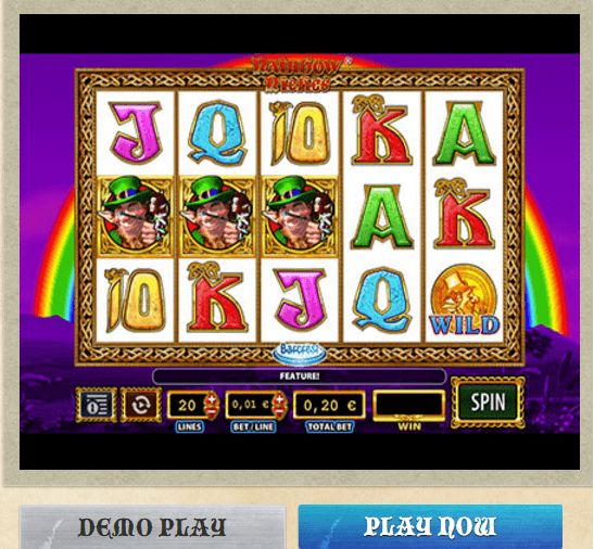 Fruit Machine Rainbow Riches Demo Play