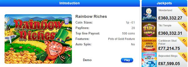 Fruit Rainbow Riches Emulator
