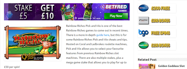 How To Win Rainbow Riches