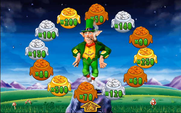 Rainbow Riches big win bonus round