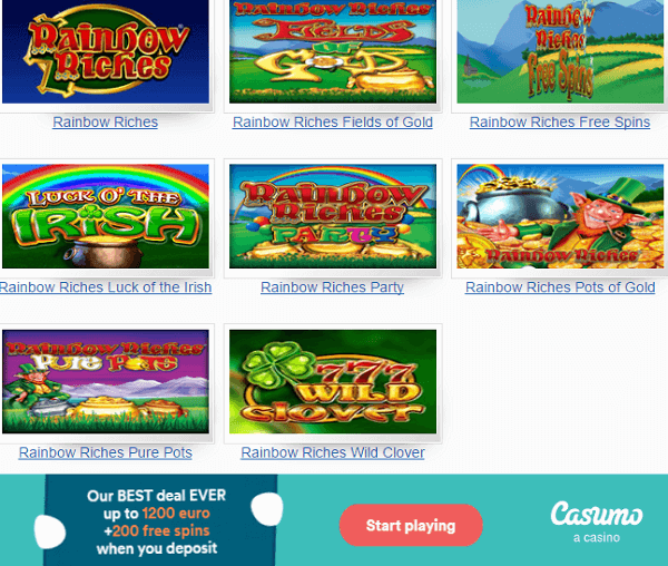 Rainbow Riches Download