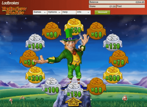 Rainbow Riches For Free