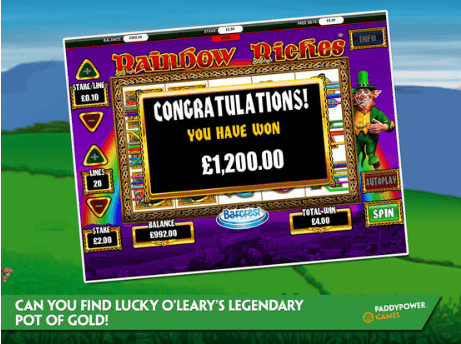 Rainbow Riches For iPad