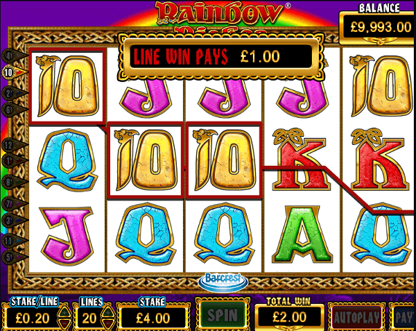 Rainbow Riches Free Online Game