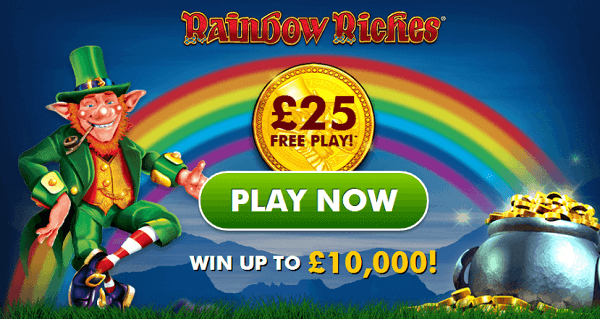 Rainbow Riches Free Play Now No Deposit