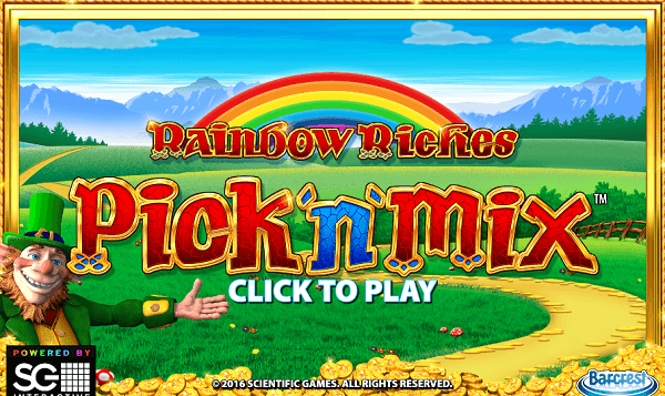 Rainbow Riches Game RTP