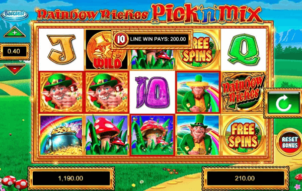Rainbow Riches Golden Charms