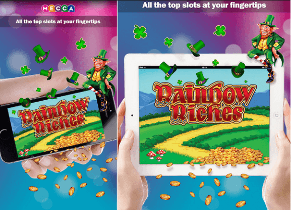 Rainbow Riches iPhone app