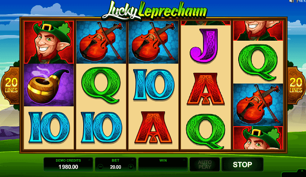 Rainbow Riches Kerching Leprechaun