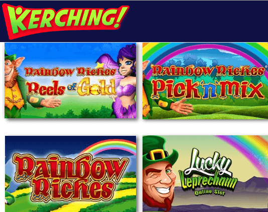 Rainbow Riches Kerching
