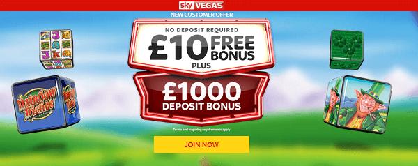 Rainbow Riches: No Deposit Bonus skybet