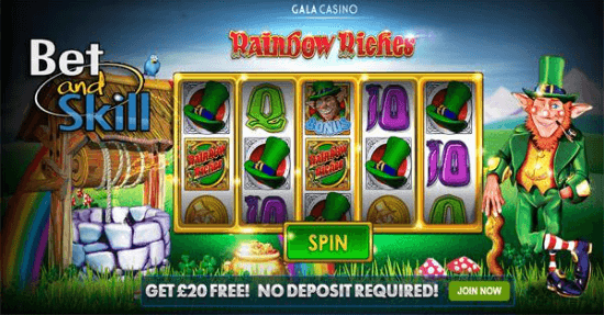 Rainbow Riches Now Play Free No Deposit