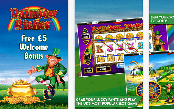 Rainbow Riches On Mobile