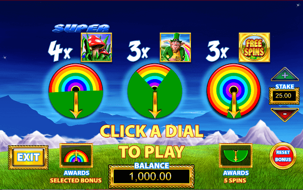 Rainbow Riches: Pick n Mix big bet