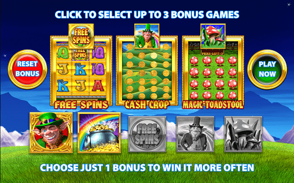 Rainbow Riches Pick n Mix Bonuses