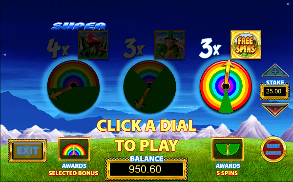 Rainbow Riches  Pick n Mix obtain bonuses