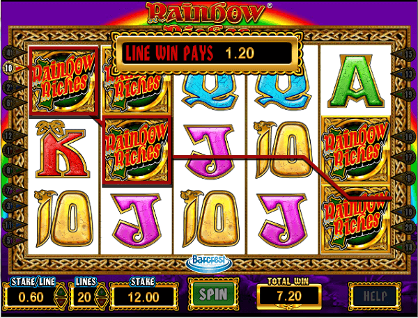 Rainbow Riches Pure Pots Online