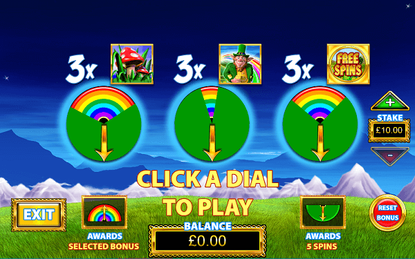 Rainbow Riches RTP bonuses