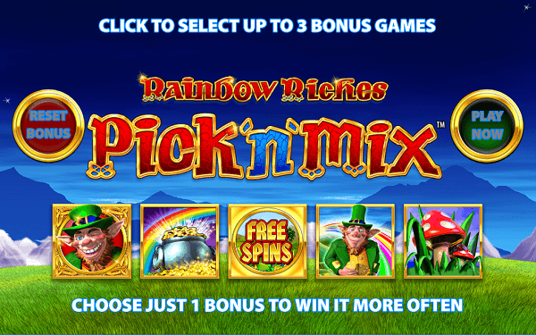 Rainbow Riches RTP