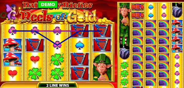 Rainbow Riches Slot Game Golden Charms