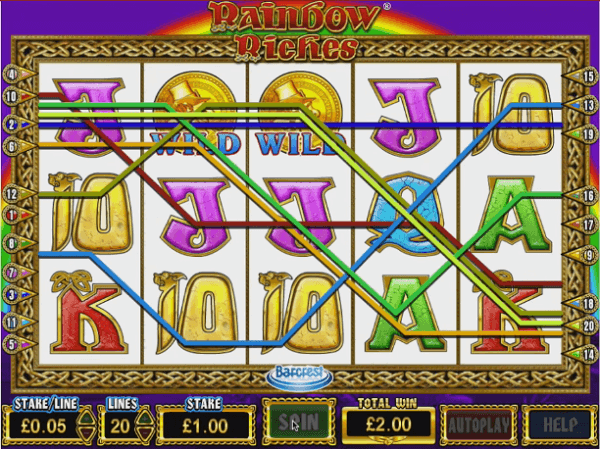 Rainbow Riches Slot Machines Free Play
