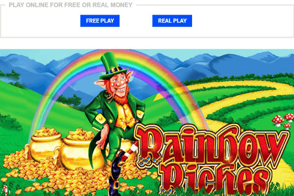 Rainbow To Riches Free Play