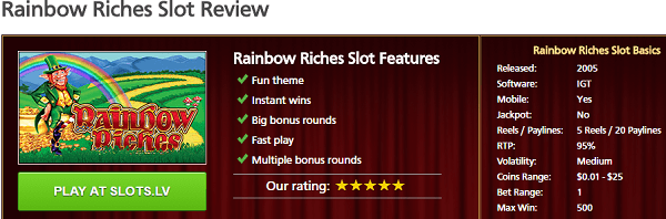 RainbowRiches IGT