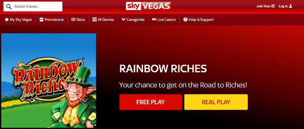 Sky Bet: Rainbow Riches