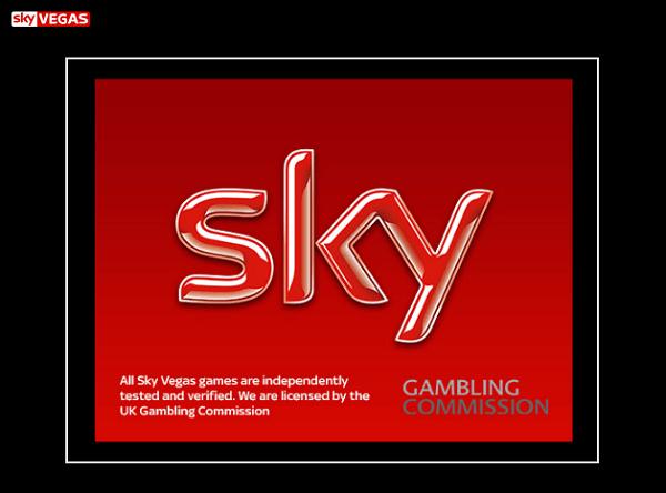 Sky Vegas regulations