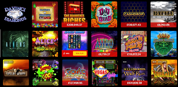 Slot Games Bonuses