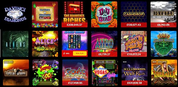 Slot Games Bonuses