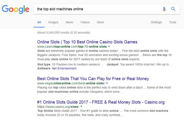 top slot machines online