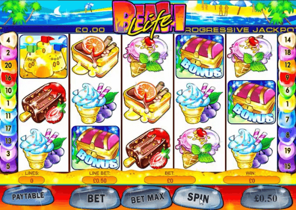 Beach Life Mobile Slot
