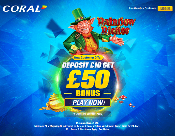 Coral Rainbow Riches Play