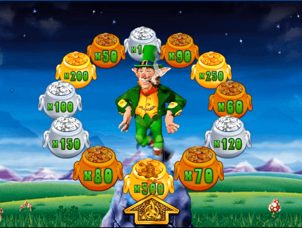 Coral Rainbow Riches Pots of Gold