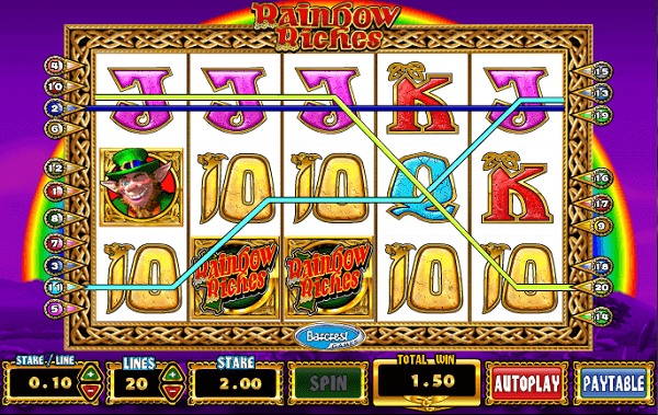Coral Rainbow Riches Slot