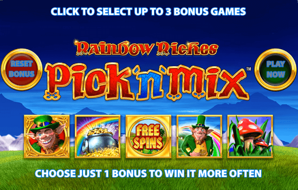 Free Rainbow Riches Game