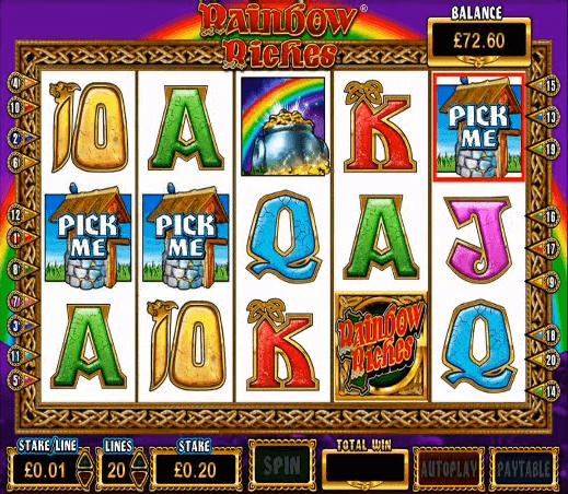 Ladbrokes Free Slots Rainbow Riches