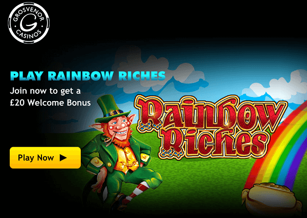 Grosvenor Online Casino Rainbow Riches