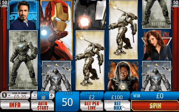 Iron Man 2 Popular Mobile Slot