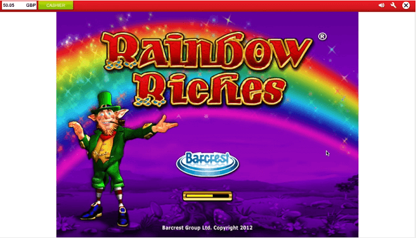 Ladbrokes Rainbow Riches Free